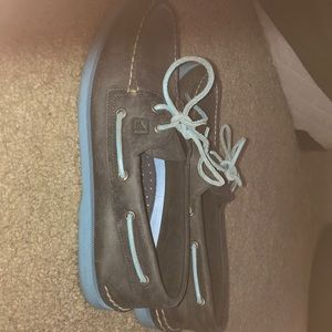 Blue Men's Sperry Boat Shoes